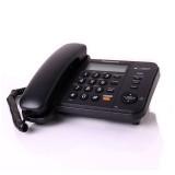 Telefon analogic cu fir alb negru Panasonic cu caller ID speaker