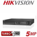 Videorecorder DVR 32 Canale 4 Audio Turbo HD 5 Megapixeli Hikvision Full HD