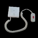 Statie de apelare cu buton de cerere/anulare serviciu montat pe cablu spiralat