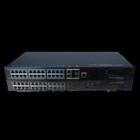 Switch cu 24 de porturi POE+ L2 industrial