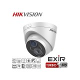 Camera Exterior Dome 1080p IR 40m Lentila Varifocala 2.8-12mm Full HD Hikvision