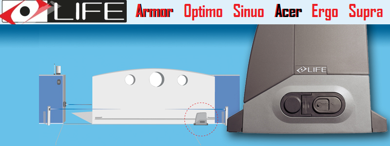 Configurator Sistem de Automatizare Porti Culisante